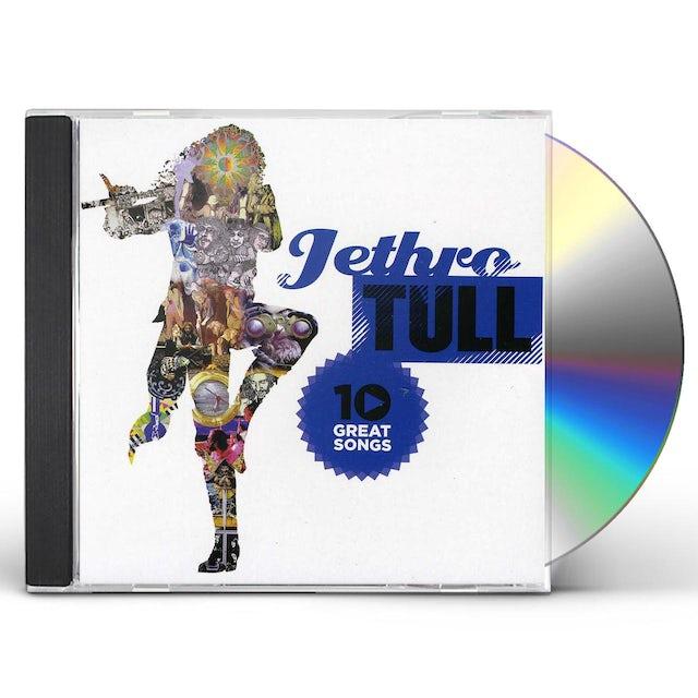 Jethro Tull 10 GREAT SONGS CD