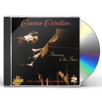 Carmen Cavallaro STAIRWAY TO THE STARS: MORE COCKTAIL PIANO CD