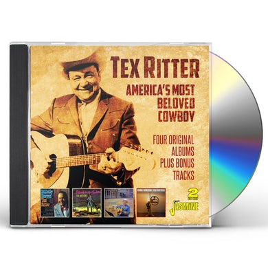 AMERICA'S MOST BELOVED COWBOY: 4 ORIGINAL ALBUMS CD