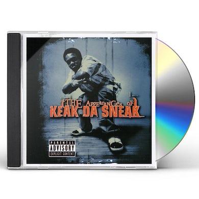 APPEARANCES OF KEAK DA SNEAK CD
