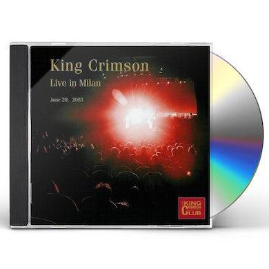 KING CRIMSON COLLECTORS CLUB LIVE IN MILAN JUNE 20 CD