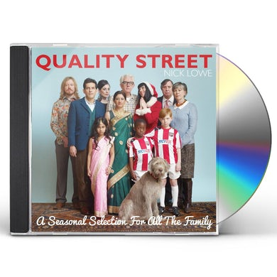 Nick Lowe QUALITY STREET: A SEASONAL SELECTION FOR THE WHOLE CD