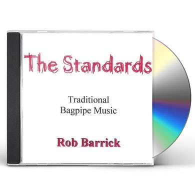 Rob Barrick STANDARDS CD