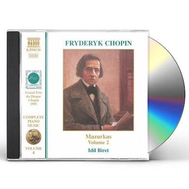 Chopin MAZURKAS 2 CD
