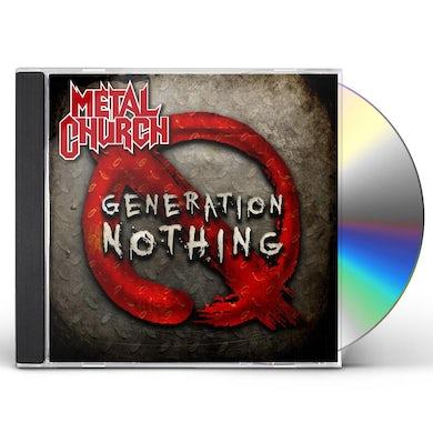 Metal Church GENERATION NOTHING CD