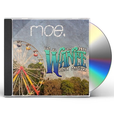 moe. LIVE AT WANEE 2014 CD
