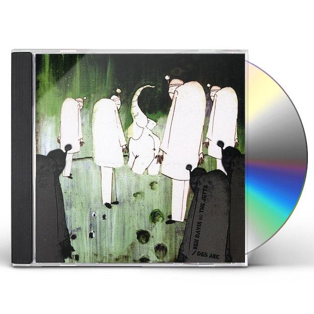 Ben Davis & Jetts / Des Ark SPLIT CD