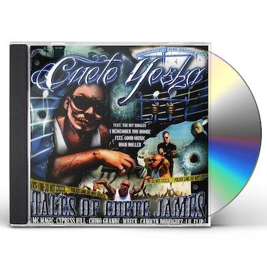 Cuete Yeska TALES OF CUETE JAMES CD