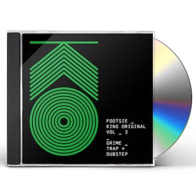Footsie KING ORIGINAL 3: GRIME TRAP & DUBSTEP CD