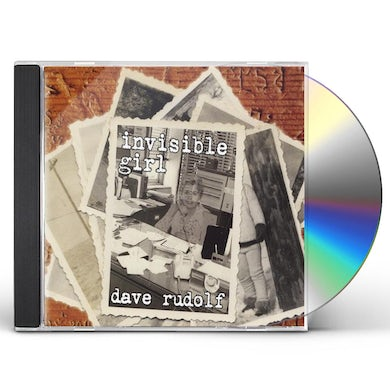 Dave Rudolf INVISIBLE GIRL CD