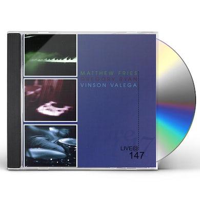 Vinson Valega LIVE AT 147 CD