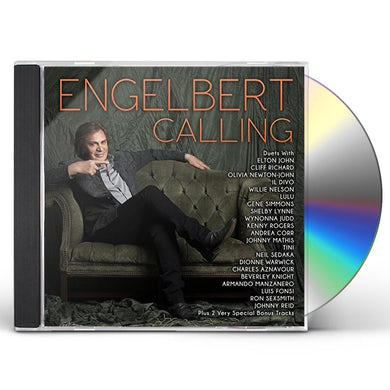 Engelbert Humperdinck ENGELBERT CALLING CD