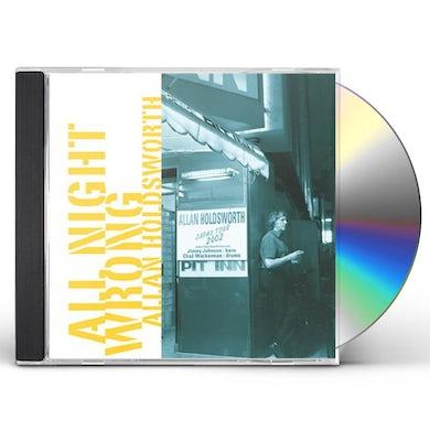 Allan Holdsworth ALL NIGHT WRONG CD