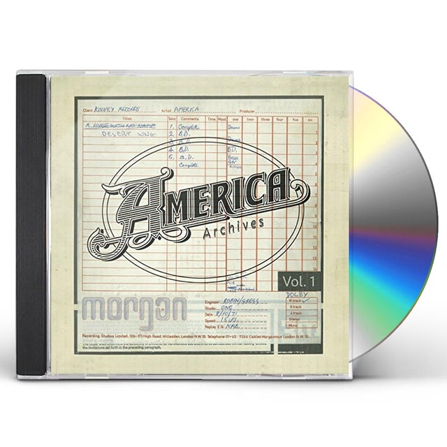 America ARCHIVES 1 CD