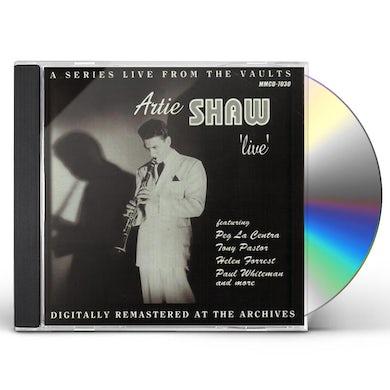 Artie Shaw LIVE CD