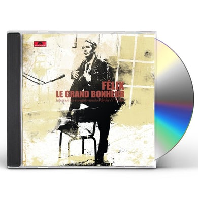 Felix Leclerc GRAND BONHEUR-INTEGRALE CD
