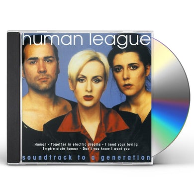 The Human League SOUNDTRACK TO A GENERATION CD