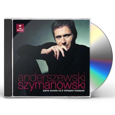 SZYMANOWSKI: PIANO SONATA NO.3 METOPES & MASQUES CD