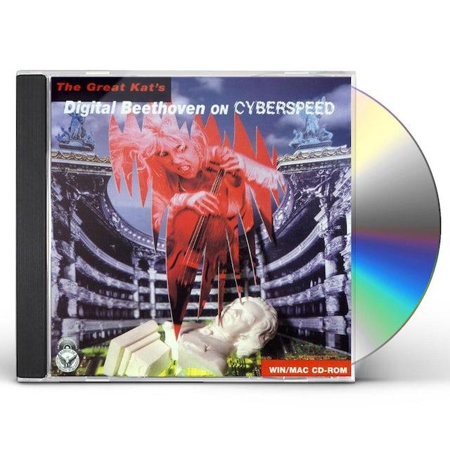 Great Kat DIGITAL BEETHOVEN ON CYBERSPEED CD