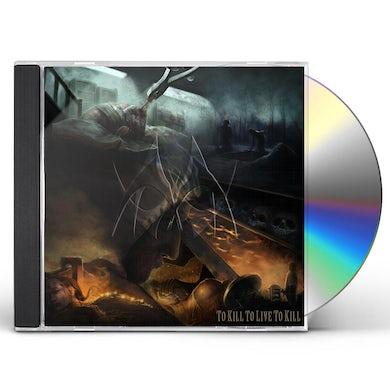 Manticora TO KILL TO LIVE TO KILL CD