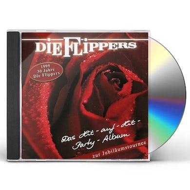 Flippers DAS HIT-AUF-HIT-PARTY-ALBUM CD