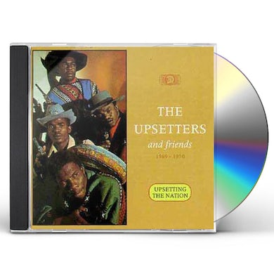 The Upsetters UPSETTING THE NATION CD