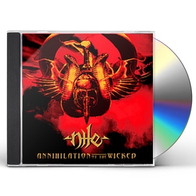 Nile ANNIHILATION OF THE WICKED CD