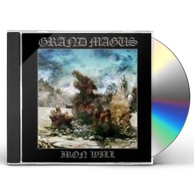 Grand Magus IRON WILL CD
