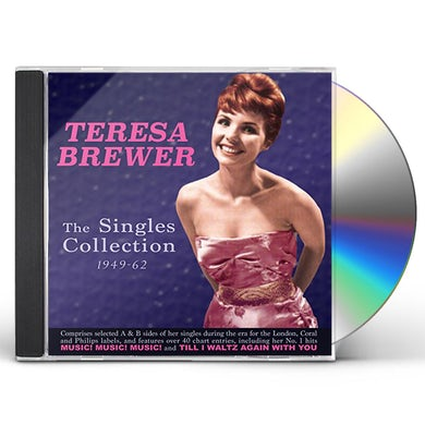 Teresa Brewer SINGLES COLLECTION 1949-61 CD