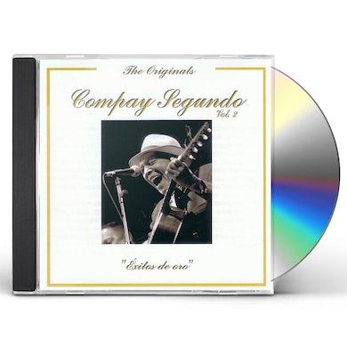 Compay Segundo EXITOS DE ORO VOL 2 CD