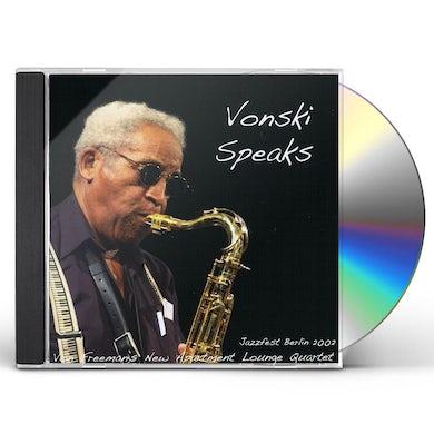 Von Freeman VONSKI SPEAKS CD