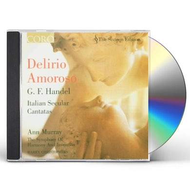 Ann Murray DELIRIO AMOROSO: ITALIAN SECULAR CANTATAS CD