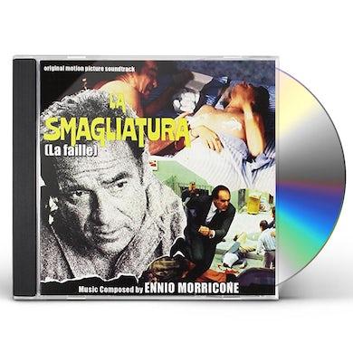 Ennio Morricone LA SMAGLIATURA (LA FAILLE) / Original Soundtrack CD