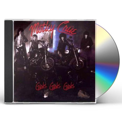 Mötley Crüe GIRLS GIRLS GIRLS CD