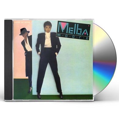 Melba Moore NEVER SAY NEVER CD