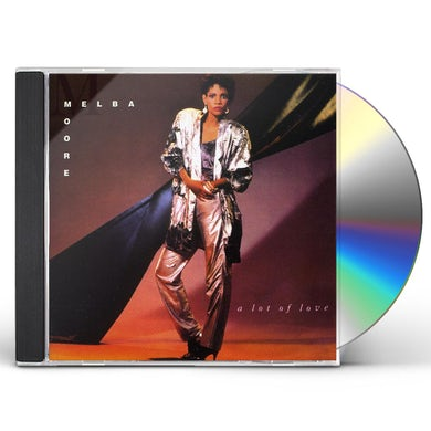 Melba Moore LOT OF LOVE CD