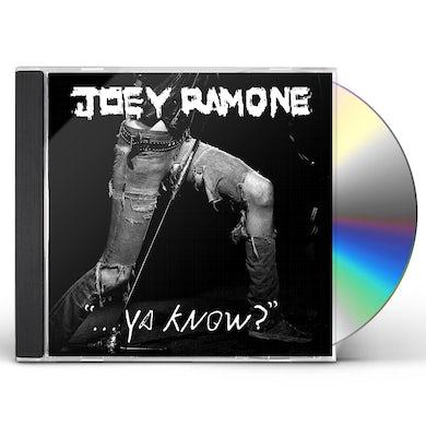Joey Ramone YA KNOW CD