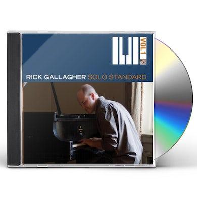 Rick Gallagher SOLO STANDARD, VOL. 1 CD