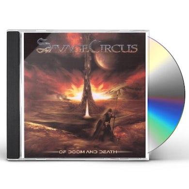Savage Circus OF DOOM & DEATH CD