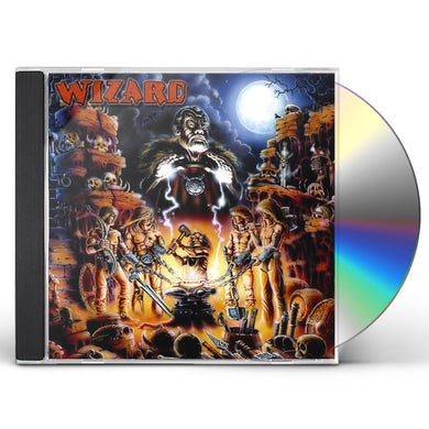 Wizard BOUND BY METAL CD