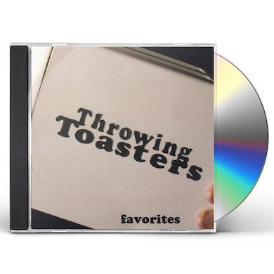 Throwing Toasters FAVORITES CD