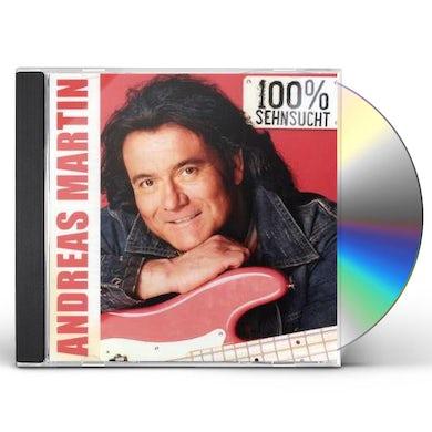 Andreas Martin 100 % SEHNSUCHT CD