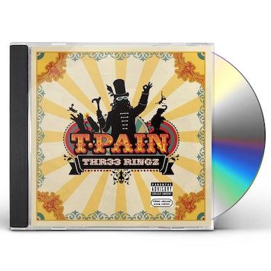 T-Pain THR33 RINGZ CD