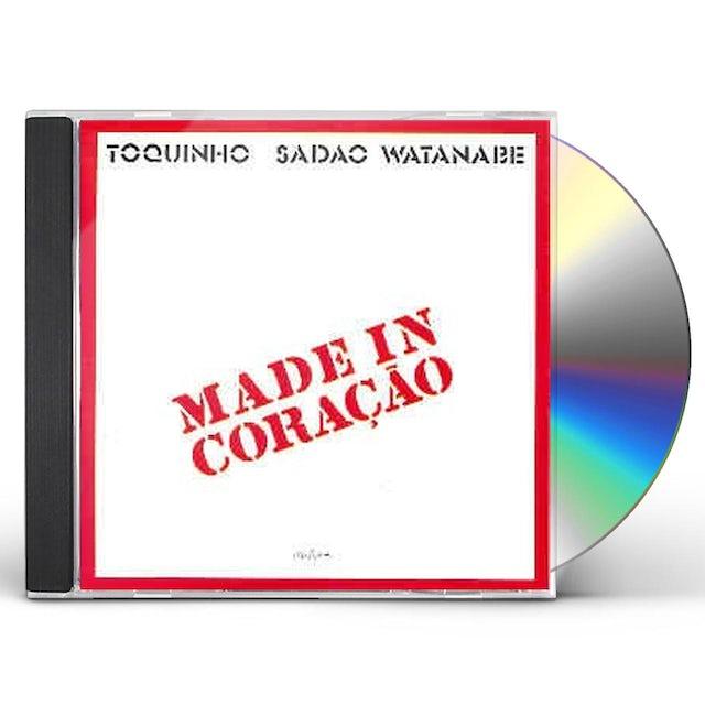 Toquinho MADE IN CORACAO: COLECAO 50 ANOS DE BOSSA NOVA CD