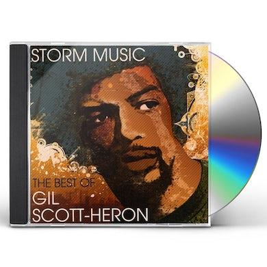 Gil Scott-Heron STORM MUSIC: BEST OF CD