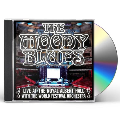 The Moody Blues LIVE AT THE ROYAL ALBERT HALL WITH WORLD FESTIVAL CD