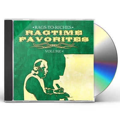 Rags-to-Riches RAGTIME FAVORITES VOL. 4 CD