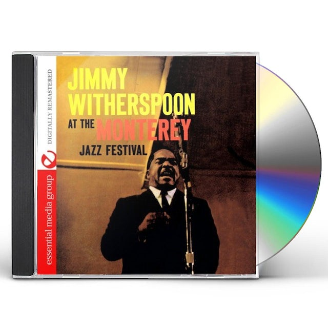 Jimmy Witherspoon AT THE MONTEREY JAZZ FESTIVAL CD