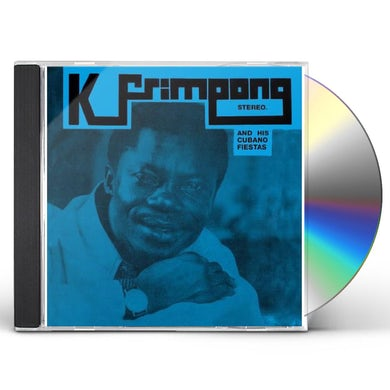 K Frimpong & His Cubano Fiestas BLUE ALBUM CD