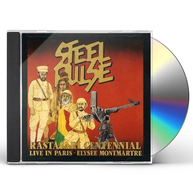 Steel Pulse LIVE IN PARIS: RASTA CENTENNIAL CD